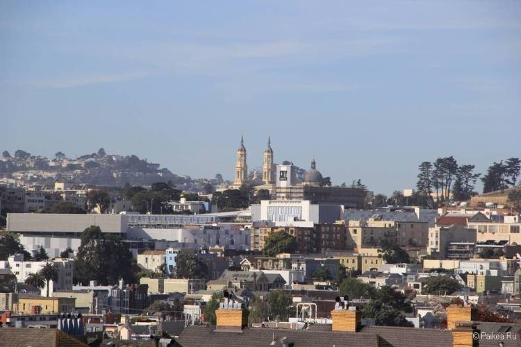Достопримечательности Сан-Франциско вид на город