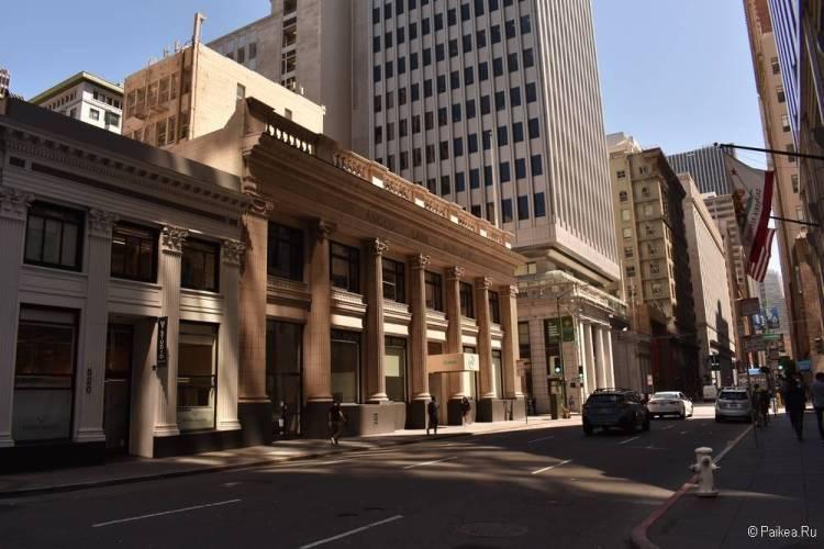 Достопримечательности Сан-Франциско финансовый квартал