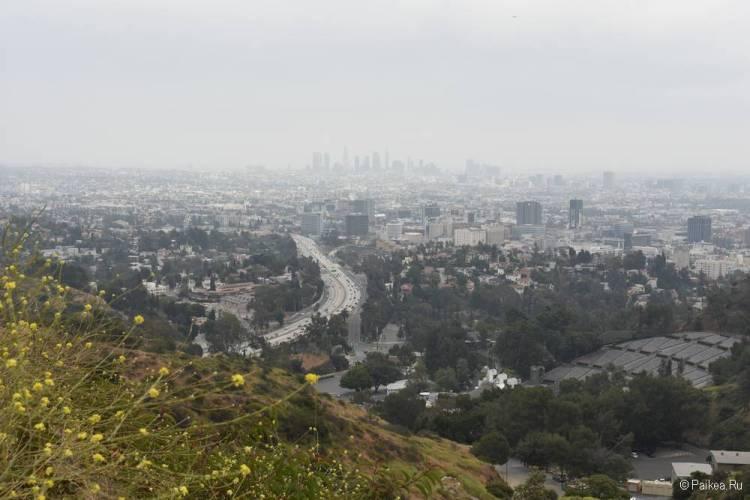 Голливуд Боул Оверлук в Лос-Анджелесе