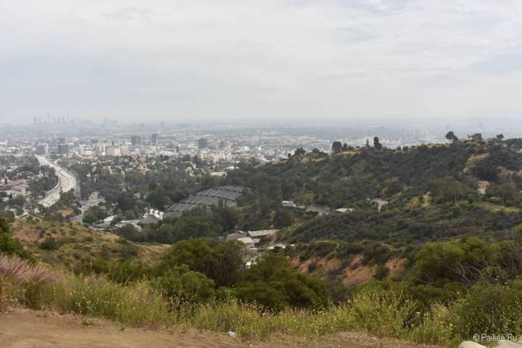 Смотровая площадка Голливуд Боул в Лос-Анджелесе 05