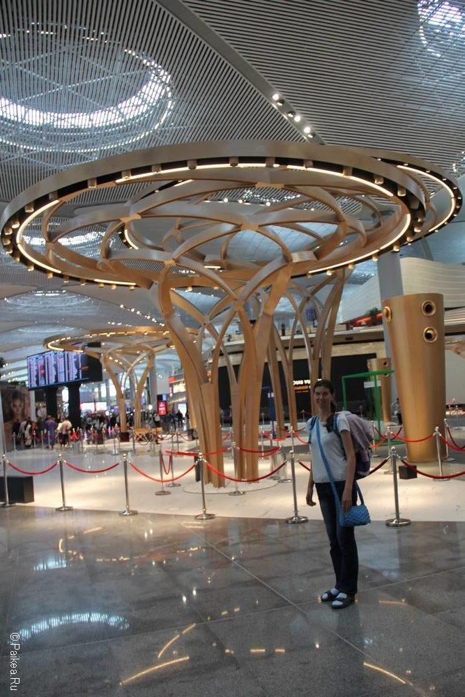 Фото аэропорта Стамбула