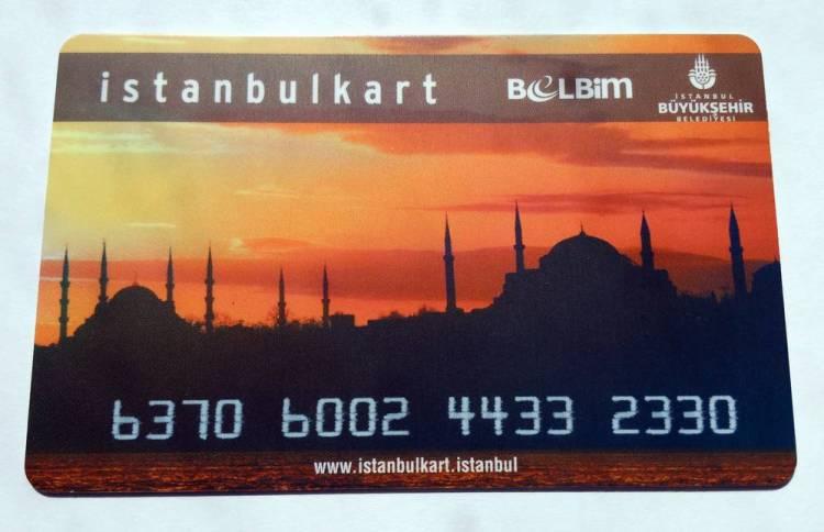 Истанбулкарт это