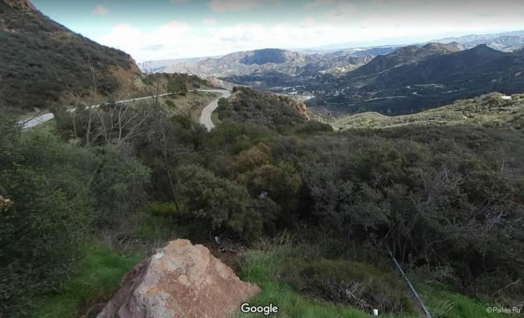 Малхолланд Драйв, горы Санта-Моника