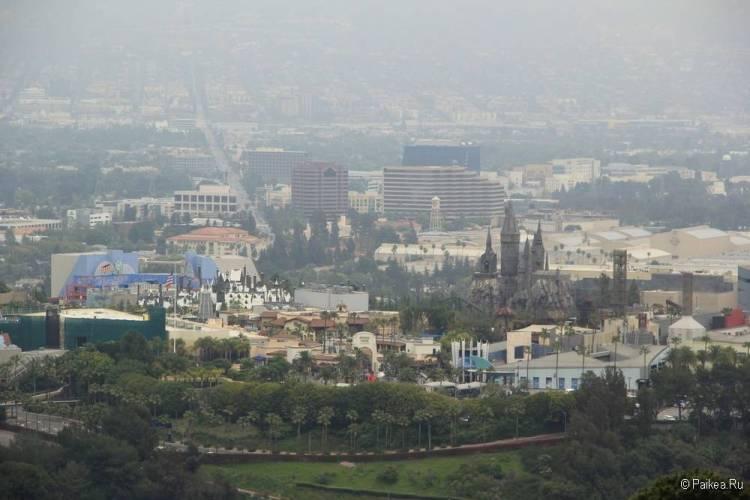 Поездка в Лос-Анджелес самостоятельно Юниверсал Студио