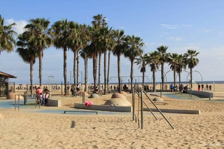 Поездка в Лос-Анджелес самостоятельно пляж Санта-Моника