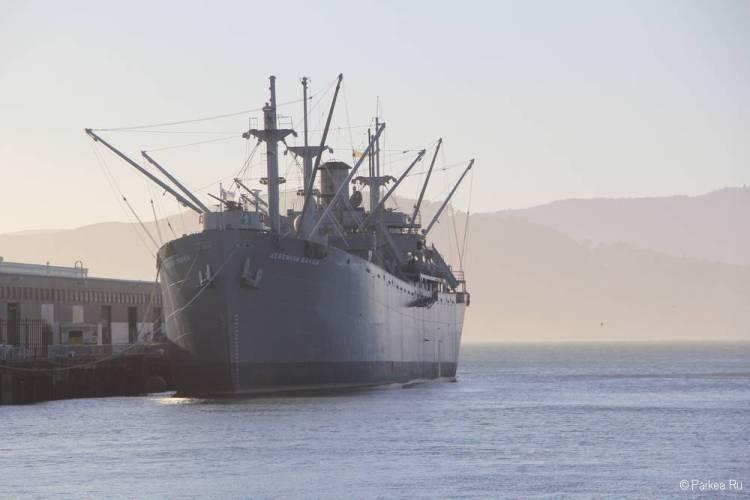 рыбацкая пристань сан франциско корабль