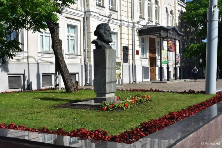 Бюст Карла Маркса, Витебск