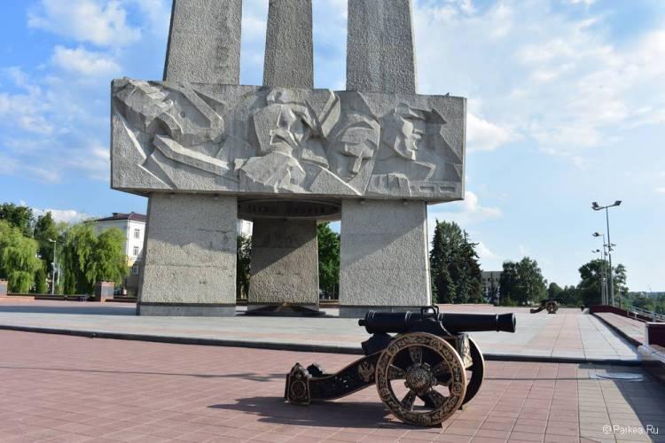 Пушка 1812 года, Витебск