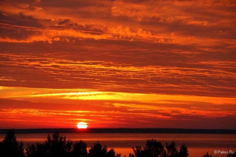 Самые красивые закаты и рассветы мира 56