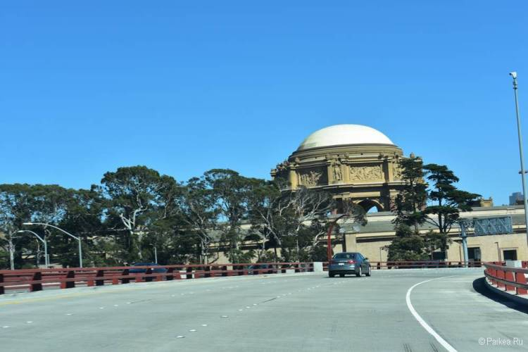 Дворец изящных искусств в Сан-Франциско как добраться