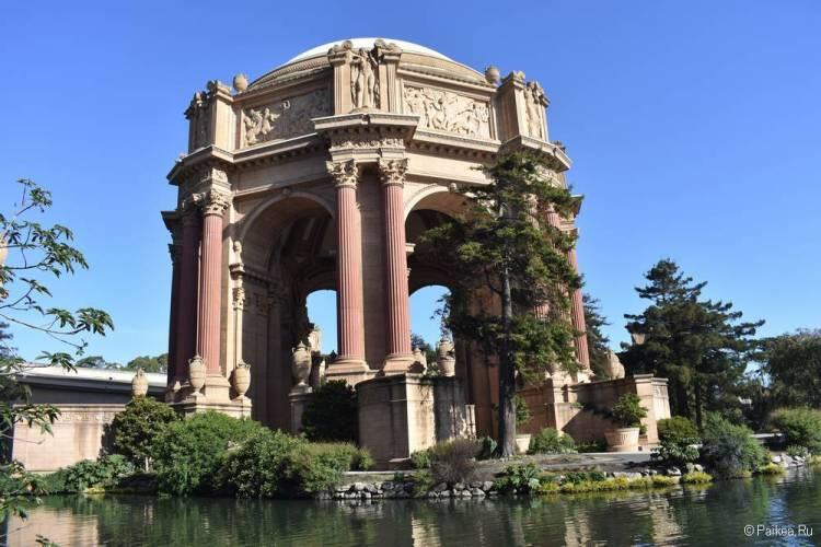 Дворец изящных искусств в Сан-Франциско 08