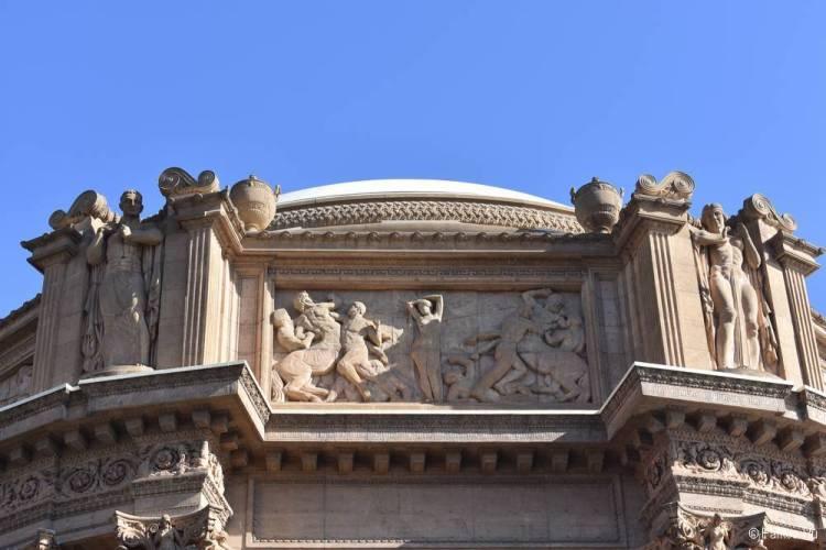 Дворец изящных искусств в Сан-Франциско 10