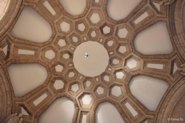 купол ротонды дворец изящных искусств сан франциско