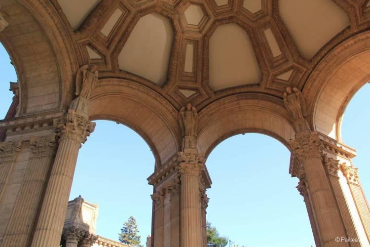 Дворец изящных искусств в Сан-Франциско 33