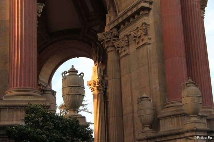 Дворец изящных искусств в Сан-Франциско 57
