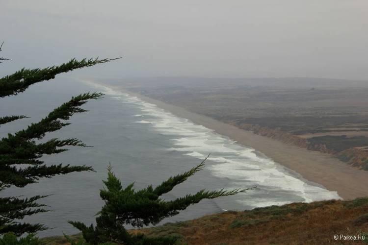 тихоокеанское побережье северная калифорния
