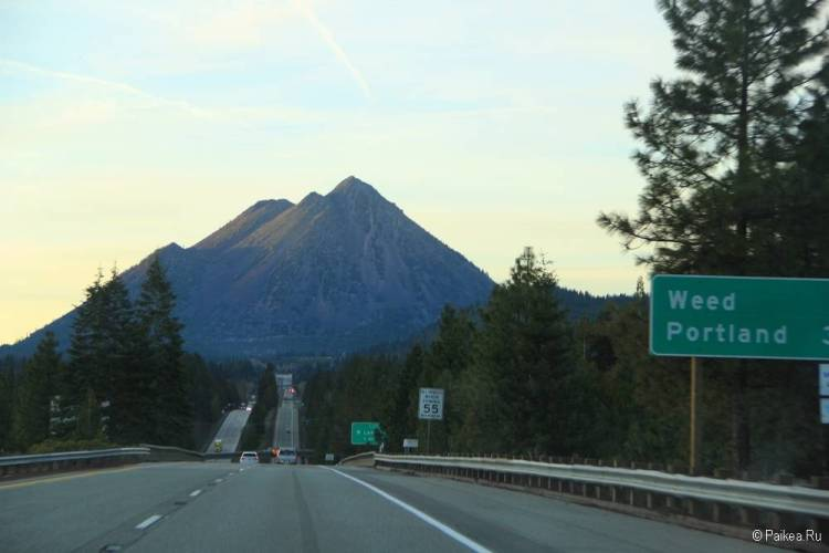 северная калифорния маршрут из сан-франциско 56