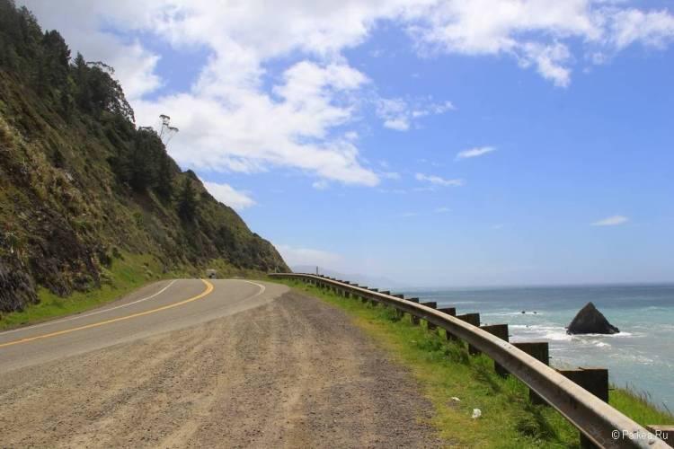 северная калифорния маршрут из сан-франциско 62