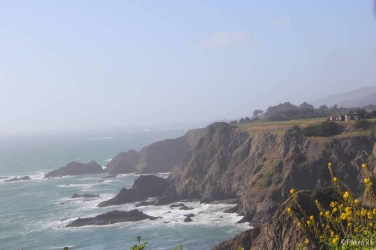 побережье северной калифорнии