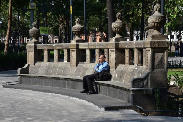 мехико парк аламеда
