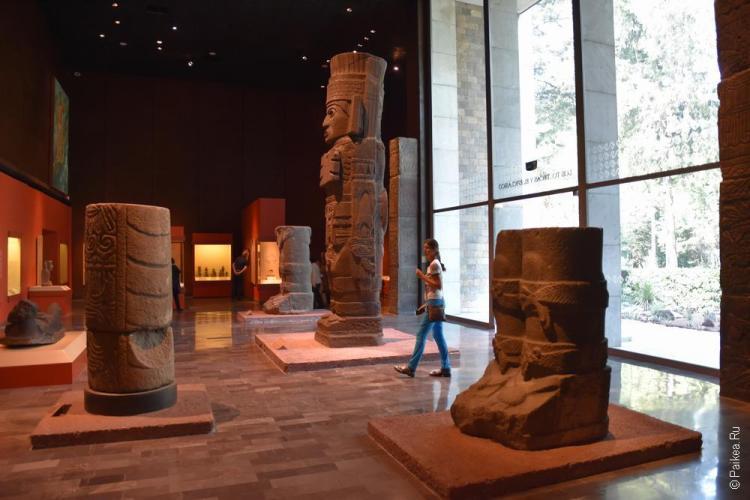 мехико музей антропологии 3