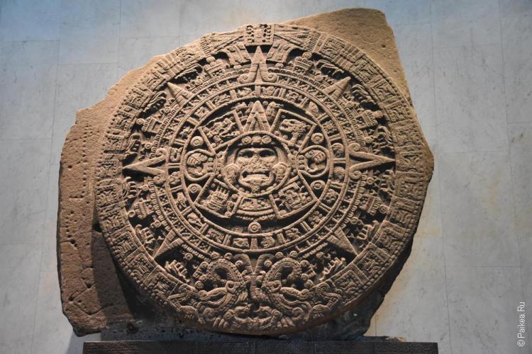 мехико календарь ацтеков