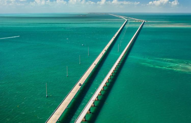 7-мильный мост (seven mile bridge) 2