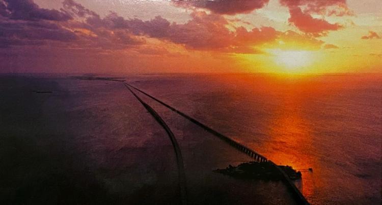 7-мильный мост закат