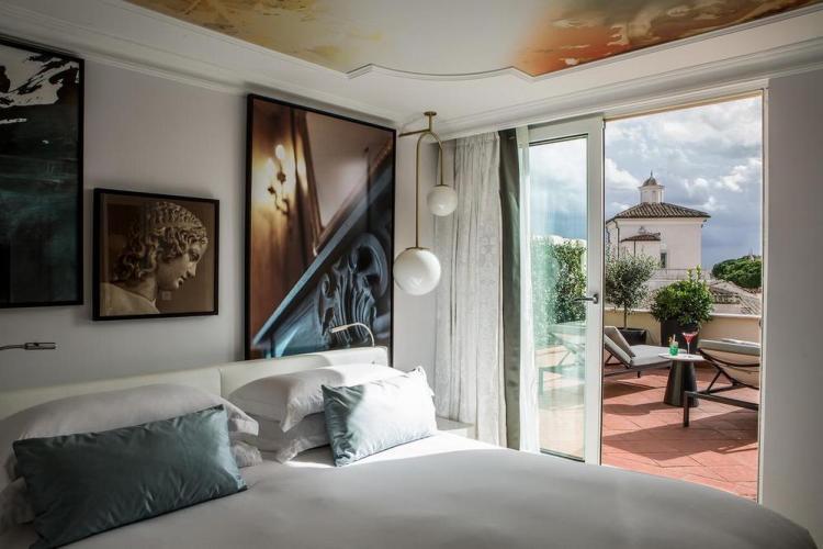 отели в риме villa borghese