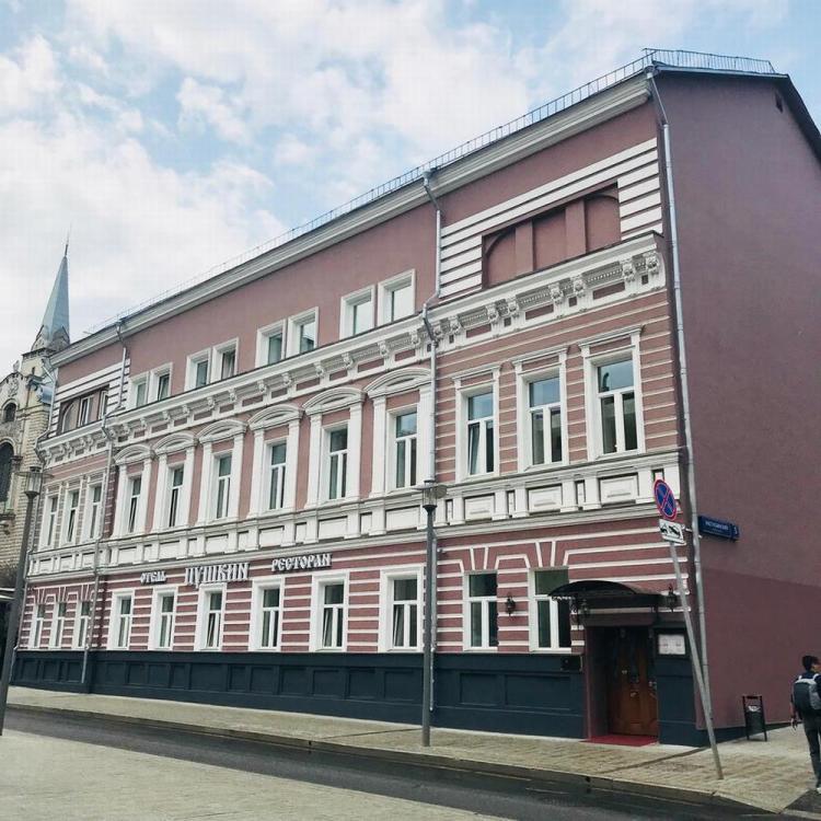 где остановиться в москве / гостиница пушкин