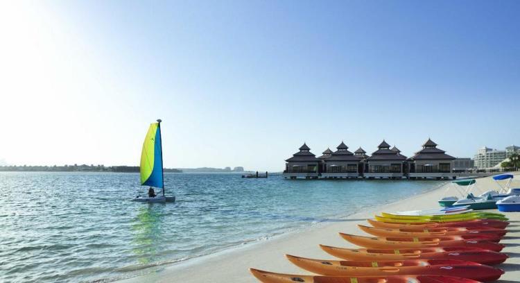 отели дубая с собственным пляжем / anantara dubai