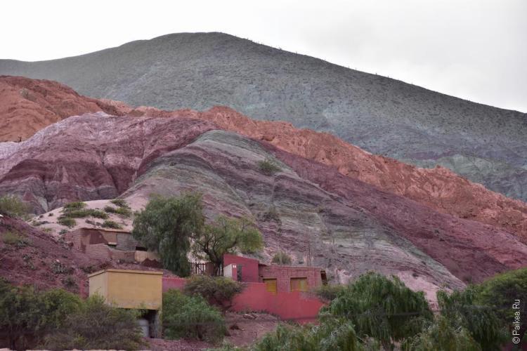 пурмамарка цветные горы, аргентина / purmamarca los colorados 3