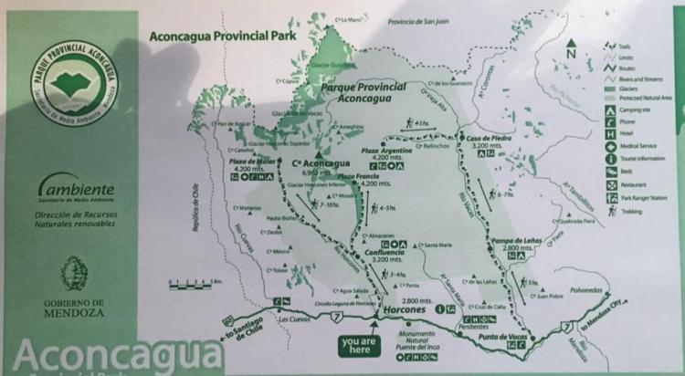 аконкагуа карта парка