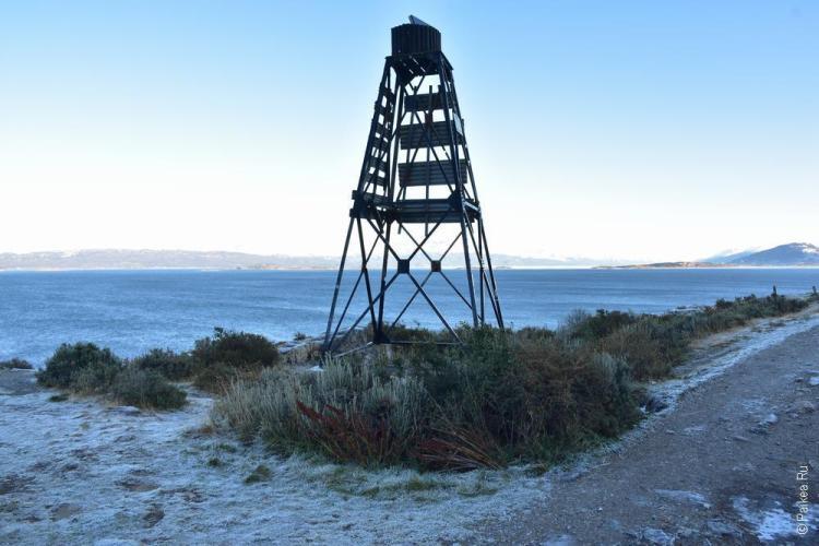 ушуайя маяк на берегу