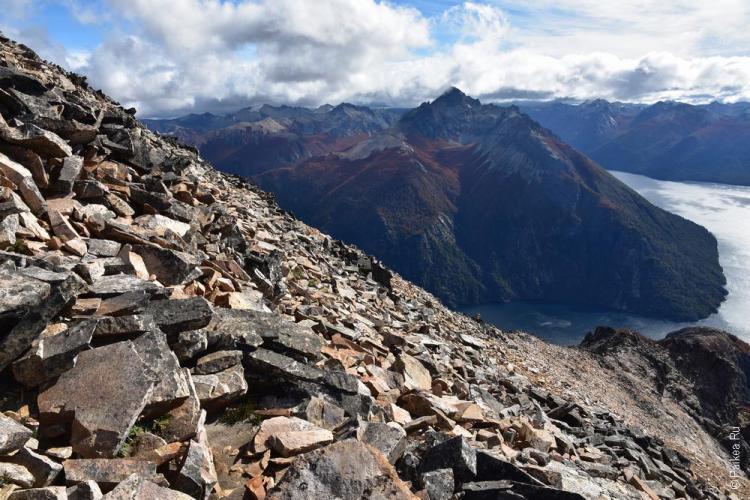 на вершине горы лопес, барилоче