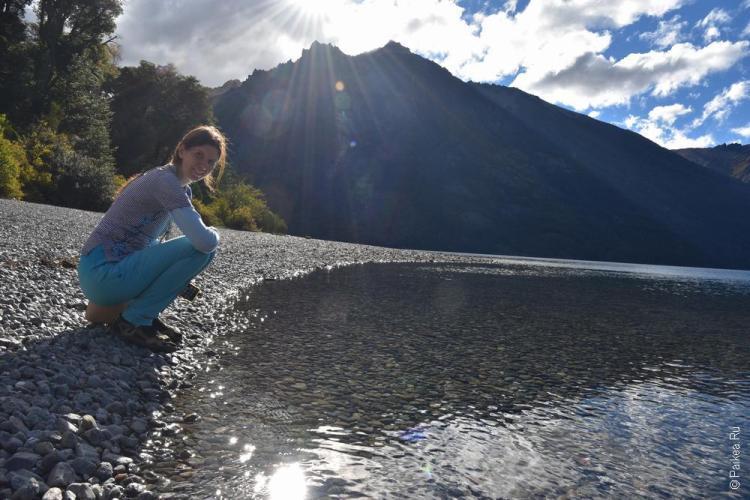 озеро гутиеррес в барилоче