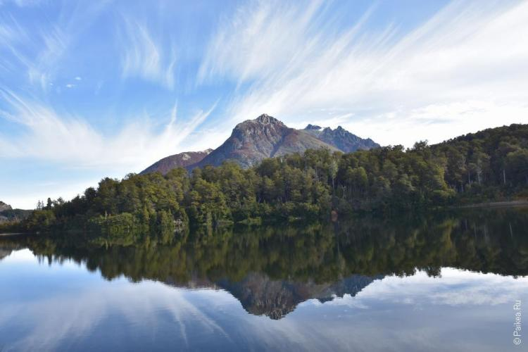 озеро эскондидо, барилоче