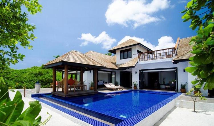пляжные виллы Мальдив для отдыха с детьми 17