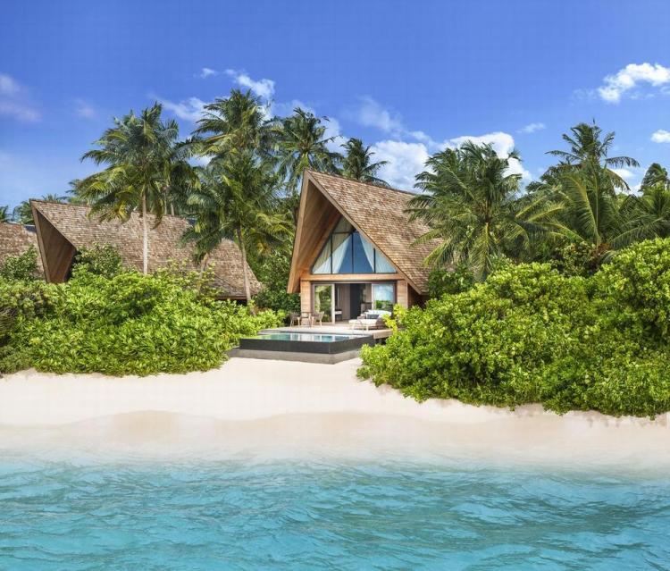 пляжные виллы Мальдив для отдыха с детьми 34