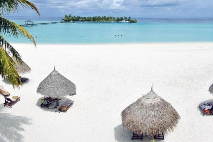 отели на мальдивах с песчаной косой sun island 3