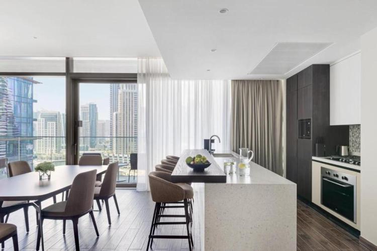 роскошные апартаменты джумейра с видом на дубай марина