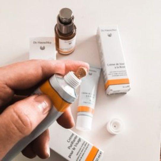 crème purifiante Dr Hauschka peaux sensibles