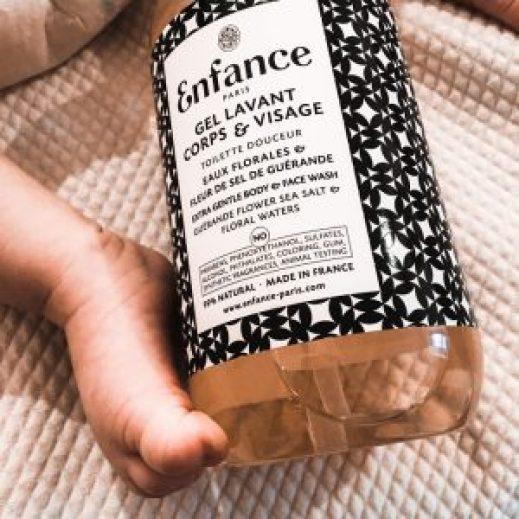 gel lavant bébé Enfance Paris