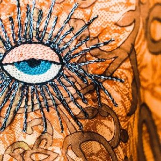 Maison Tika robe en soie