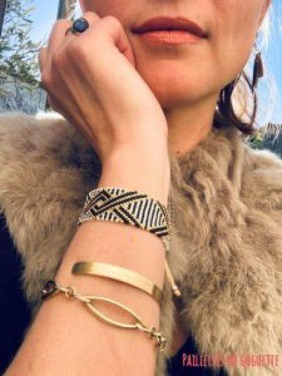 artisanat colombien bracelet tissé Elyconia