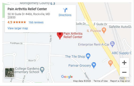 pain arthritis relief center health