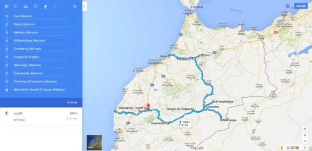 Marocco, itinerario