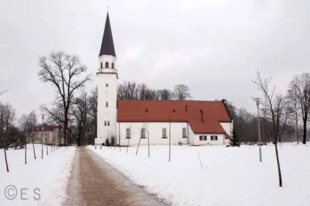 sigulda lettonia chiesa protestante