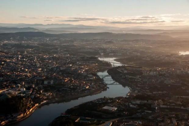 Porto air view