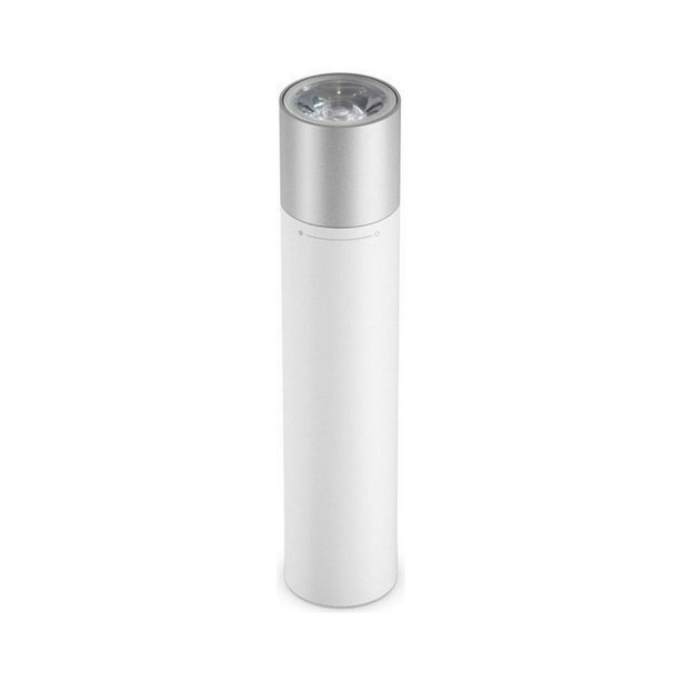 Power Bank 3250mAh com Lanterna de LED Flashlight